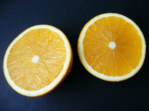 Oranges a great source of Vitamin C